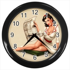 pinup-clock-reading-newspaper