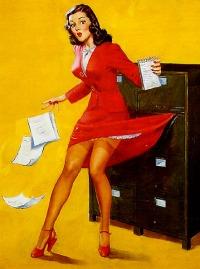 secretary-pinup